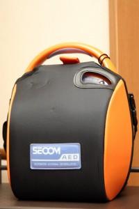 AED(自動体外式除細動器)SECOM