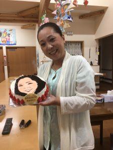 バースディケーキ,似顔絵入りバースデーケーキ,お誕生会